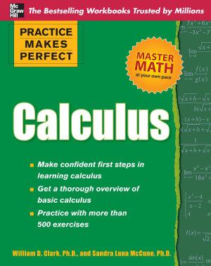 Practice Makes Perfect Calculus PDF