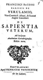 De sapientia veterum
