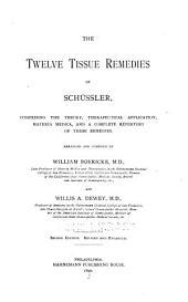 The Twelve Tissue Remedies of Sch?ssler