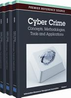 Cyber Crime  Concepts  Methodologies  Tools and Applications PDF