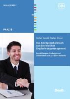 Das Arbeitgeberhandbuch zum Betrieblichen Eingliederungsmanagement PDF