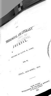 The Theological and Literary Journal: Volume 6