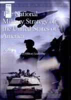 The National Military Strategy of the United States of America  2011 PDF
