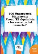 100 Unexpected Statements about El Alquimista   Los Secretos Del Inmortal