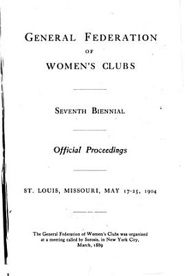 Biennial of the General Federation of Women s Clubs