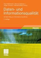 Daten  und Informationsqualit  t PDF