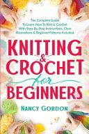 Knitting   Crochet For Beginners PDF