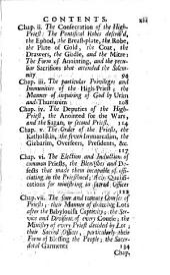 Origines Hebrææ: the antiquities of the Hebrew republick: Volume 1