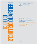 Ecodistricts   strategies and techniques for urban regeneration in Europe PDF