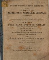 Specimen inauguralis medico-chirurgicum sistens conspectum morborum medullae spinalis