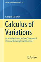 Calculus of Variations PDF