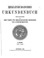 Mecklenburgisches Urkundenbuch PDF