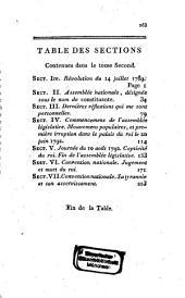 De la Révolution françoise: Volume2