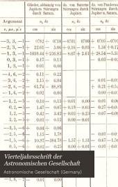 Vierteljahrsschrift der Astronomischen Gesellschaft: Bände 10-12