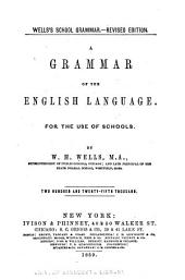 Wells's School Grammar