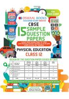 Oswaal CBSE Sample Question Papers Class 12 Physical Education  For March 2020 Exam  PDF