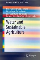 Water and Sustainable Agriculture PDF