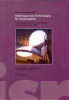Techniques and technologies for sustainability PDF