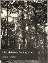 The Adirondack Spruce: A Study of the Forest in Ne-ha-sa-ne Park, with Tables of Volume and Yield and a Working Plan for Conservative Lumbering