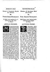 Réponse de P. S. Rouhault ... à la critique faite à son mémoire de la circulation du sang dans le fœtus humain, par Monsieur Winslow ... Risposta, etc. Fr. & Ital
