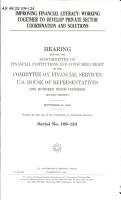Improving Financial Literacy PDF