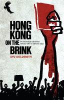 Hong Kong on the Brink PDF