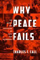 Why Peace Fails PDF