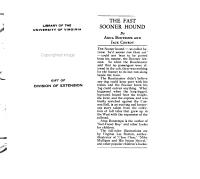 The Fast Sooner Hound