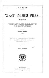 West Indies Pilot: Volume 1