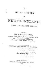A Short History of Newfoundland: England's Oldest Colony