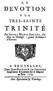 La dévotion à la très-sainte Trinité
