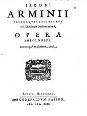 Opera theologica. - Lugduni Batavorum, Godefridus Basson 1629