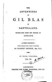 The Adventures of Gil Blas of Santillane: Volume 3
