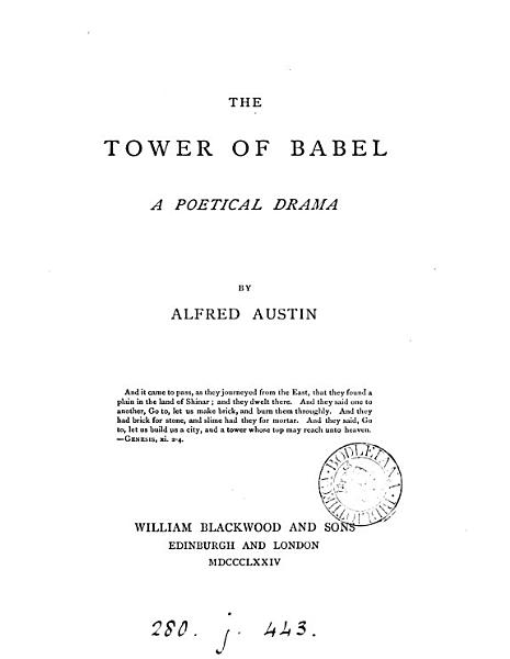 The Tower of Babel PDF
