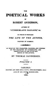 The Poetical Works of Robert Anderson