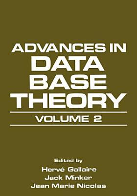 Advances in Data Base Theory PDF