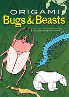 Origami Bugs and Beasts PDF