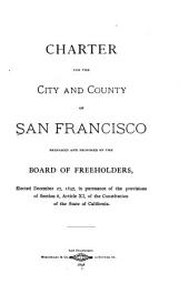 Charter of the City and County of San Francisco ....