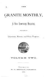 Granite State Monthly: Volume 2