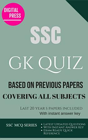 SSC GK GENERAL AWARENESS QUIZ PDF