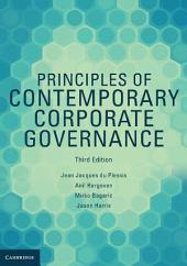 Principles of Contemporary Corporate Governance: Edition 3