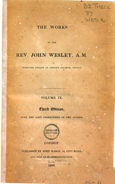 Download The Works of the Rev  John Wesley  A M   Original sin Book