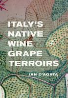 Italy s Native Wine Grape Terroirs PDF