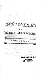 Mémoire de Beaumarchais