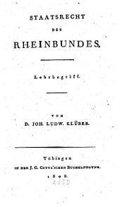 Staatsrecht des Rheinbundes