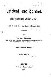 Lesebuch aus Herodot: Ein historisches elementarbuch. Im sinne des erziehenden unterrichts bearb. von dr. Otto Willmann