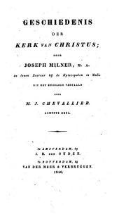 Geschiedenis der kerk van Christus: Volume 8