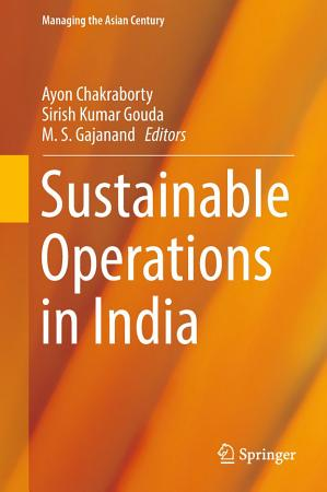 Sustainable Operations in India PDF
