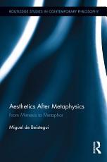 Aesthetics After Metaphysics PDF