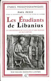 Les étudiants de Libanius